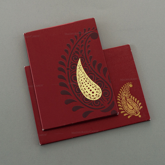 Sikh Wedding Cards - SWC-7046