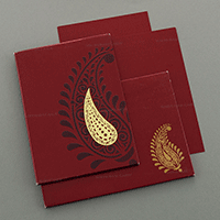 Designer Wedding Cards - DWC-7046