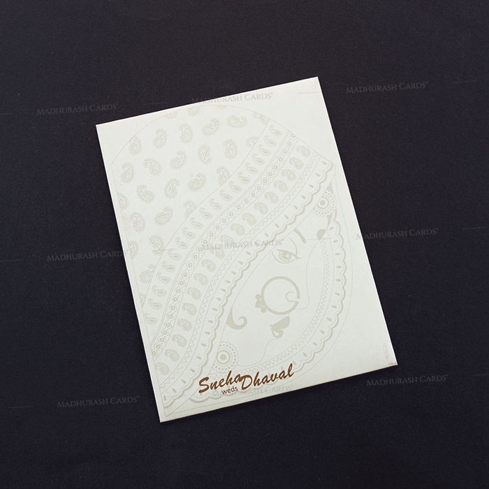 Muslim Wedding Cards - MWC-7464 - 3