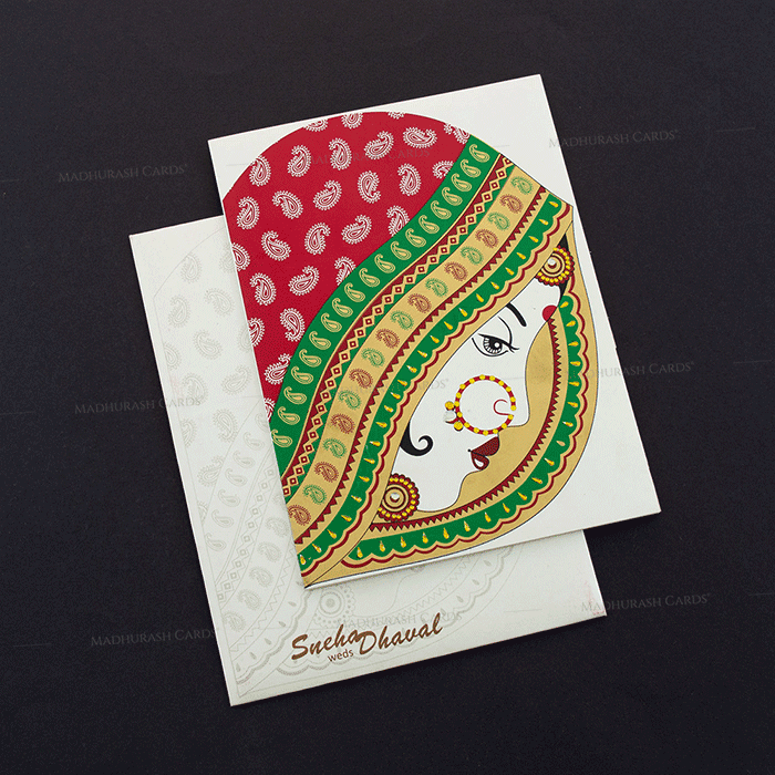 Sikh Wedding Cards - SWC-7464