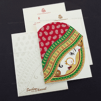 Designer Wedding Cards - DWC-7464