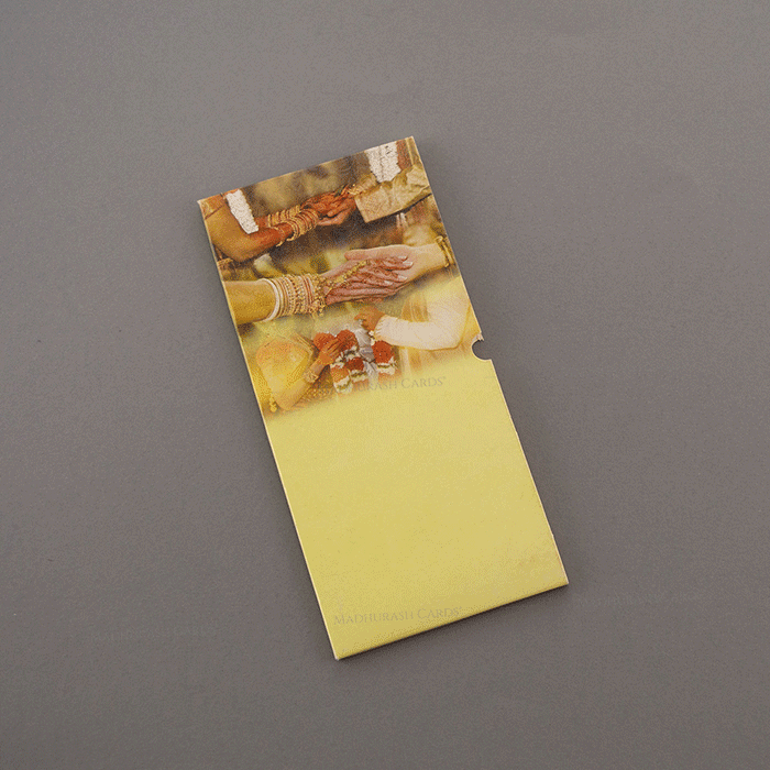 Hindu Wedding Cards - HWC-7478 - 3