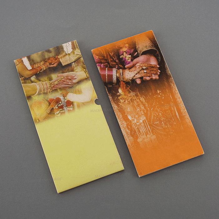 Designer Wedding Cards - DWC-7478