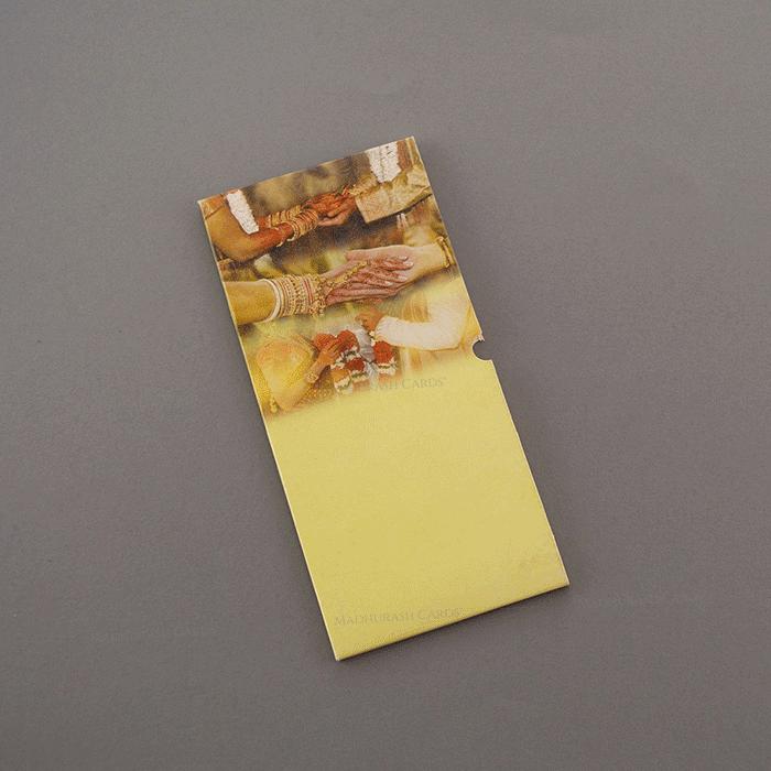 Designer Wedding Cards - DWC-7478 - 3