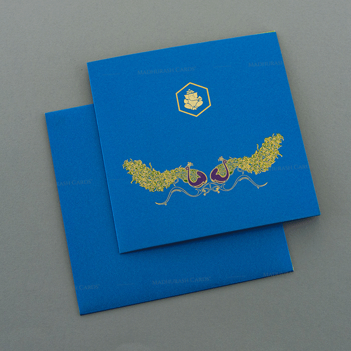 Hindu Wedding Cards - HWC-7498