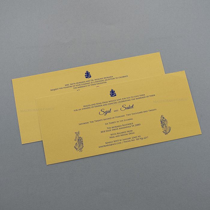 Hindu Wedding Cards - HWC-7503 - 4