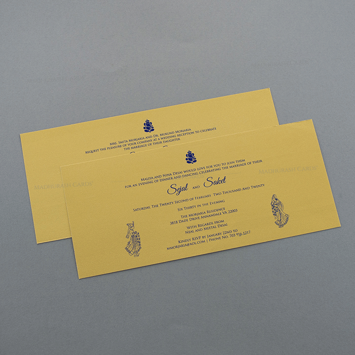 Hindu Wedding Invitations - HWC-7503 - 4