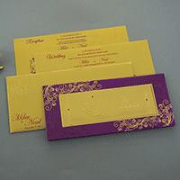 Hindu Wedding Cards - HWC-7504
