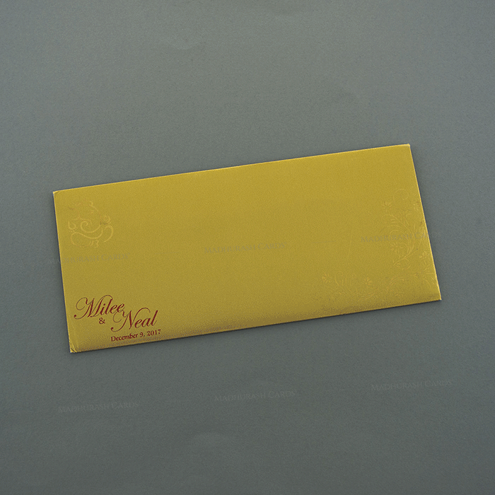 Hindu Wedding Cards - HWC-7504 - 3