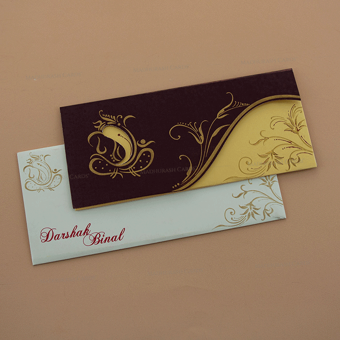 Hindu Wedding Cards - HWC-7670