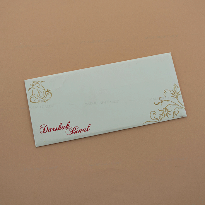 Hindu Wedding Cards - HWC-7670 - 3