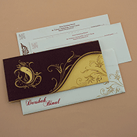 Designer Wedding Cards - DWC-7670
