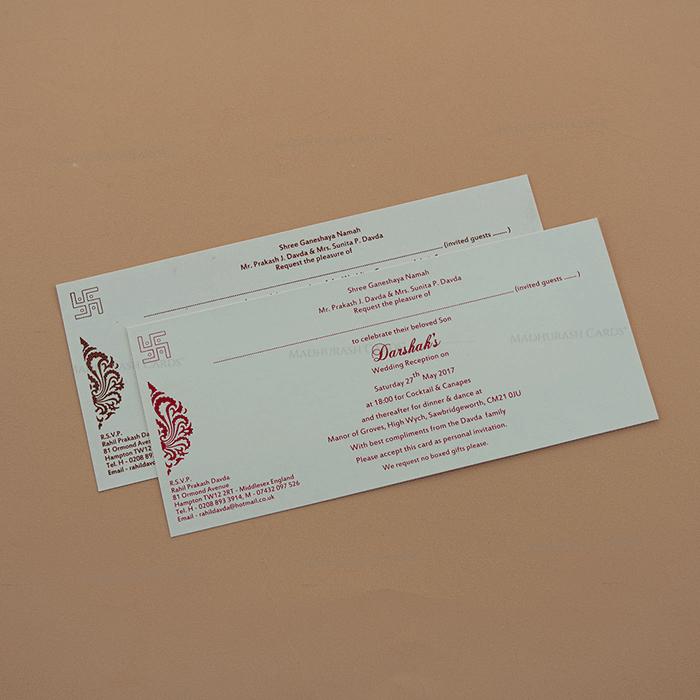 Designer Wedding Cards - DWC-7670 - 4