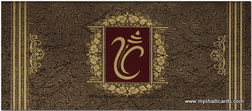 Hindu Wedding Invitations - HWC-7815