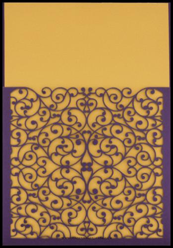 test Custom Wedding Cards - CZC-9008VG