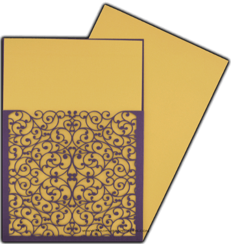 Custom Wedding Cards - CZC-9008VG - 4