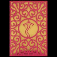 Custom Wedding Cards - CZC-9014WG