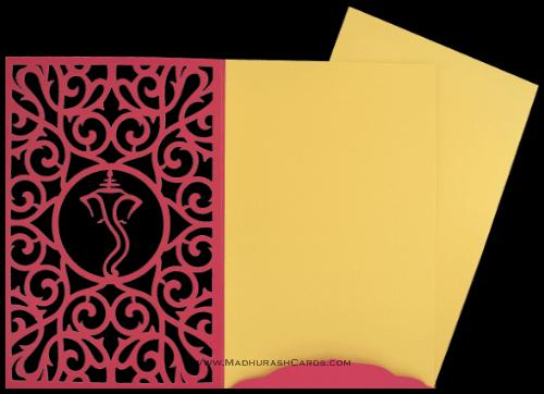 Custom Wedding Cards - CZC-9014WG - 4