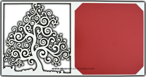 Custom Wedding Cards - CZC-9017CC - 4