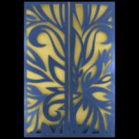Custom Wedding Cards - CZC-9018BG