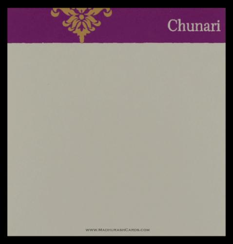 Custom Wedding Cards - CZC-9043CC - 4