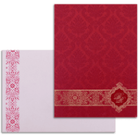 Custom Wedding Cards - CZC-9044RC