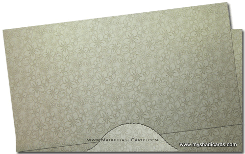 Hard Bound Wedding Cards - HBC-4026 - 4