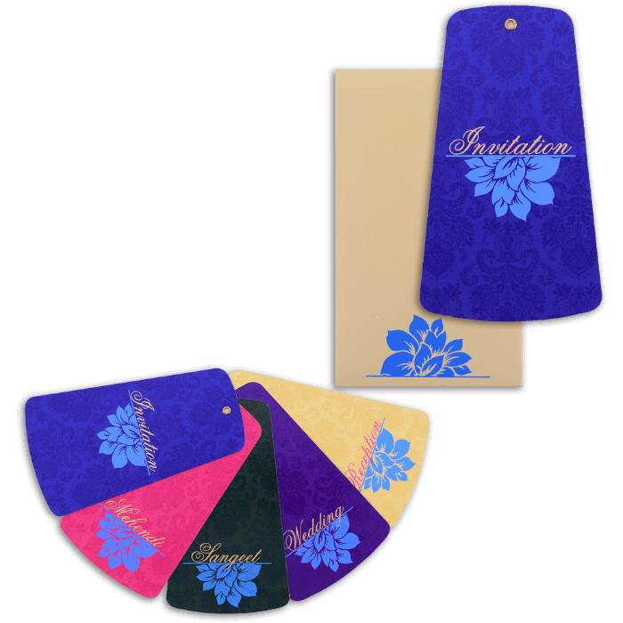 Custom Wedding Cards - CZC-9065 - 4