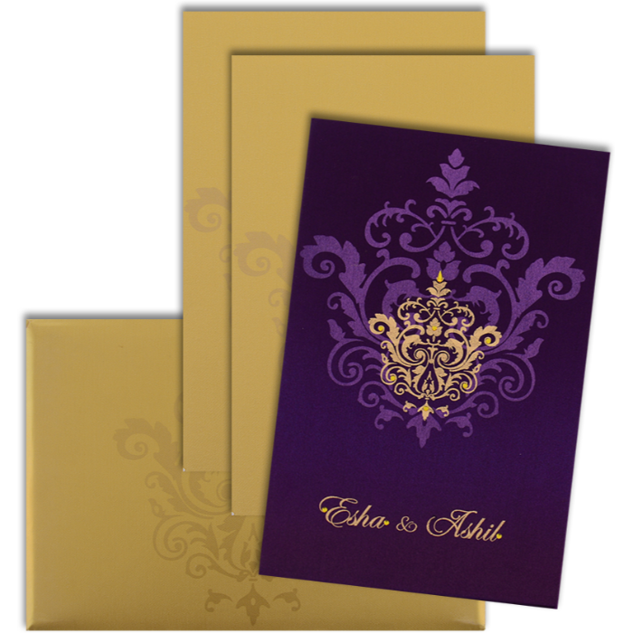 Custom Wedding Cards - CZC-9104VG - 4