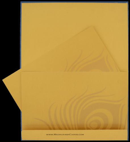 Custom Wedding Cards - CZC-9105BG - 4