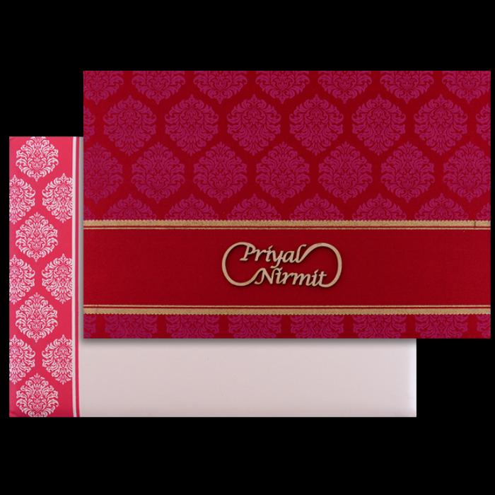 test Custom Wedding Cards - CZC-9035RC