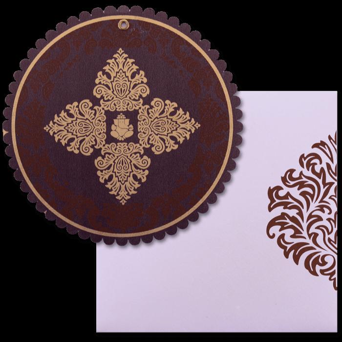 test Custom Wedding Cards - CZC-9059BRC