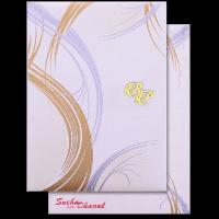 Hard Bound Wedding Cards - HBC-14026I