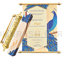 Royal Scroll Invitations - SC-6020