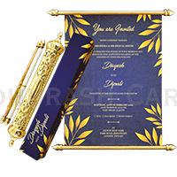Royal Scroll Invitations - SC-6022