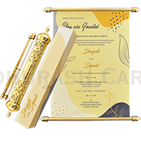Royal Scroll Invitations - SC-6024