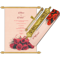 Royal Scroll Invitations - SC-6025