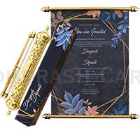 Royal Scroll Invitations - SC-6027