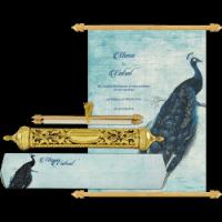 Royal Scroll Invitations - SC-6028