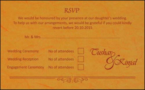 RSVP Cards - RSVP-107
