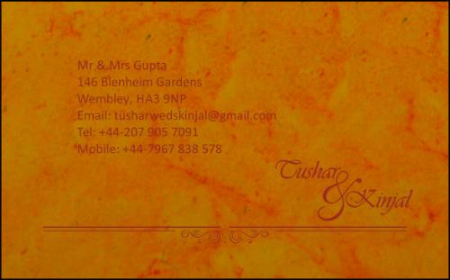 RSVP Cards - RSVP-115 - 3