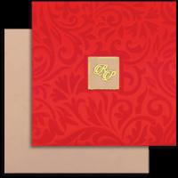 Hard Bound Wedding Cards - HBC-14032I
