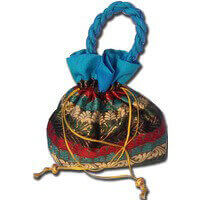 Potli Bags (Batwa Bags) - BB-Multi Square Batwa