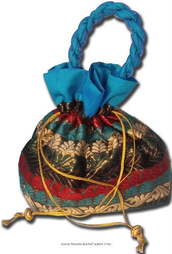 test Potli Bags (Batwa Bags) - BB-Multi Square Batwa