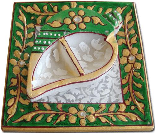 Kankavati - K-Roli Chawal Tray Green
