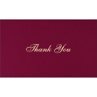 Thank you Cards - THANKYOU-201