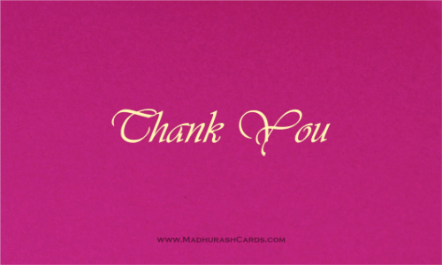 Thank you Cards - THANKYOU-203