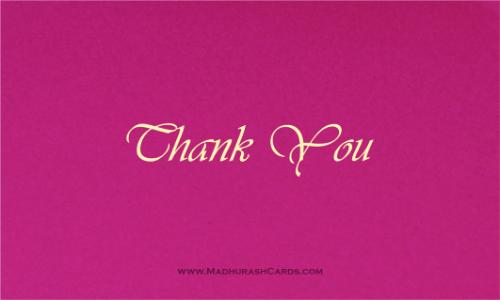 Thank you Cards - THANKYOU-203