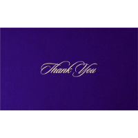 Thank you Cards - THANKYOU-204