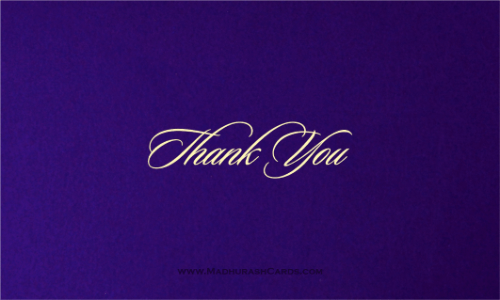 test Thank you Cards - THANKYOU-204